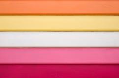 Colorido Weatherboards Foto de Stock