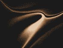 3 coloridos d ondulados y encendidos con imagen de fondo generada por ordenador del efecto del espray stock de ilustración