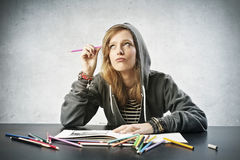 Coloring Stock Image