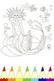 coloring Immagine Stock Libera da Diritti