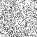 Coloring for adults. Ethnic statue, sculpture,doll with patterns. Print on t-shirt , tattoo.doodle, zentagl, style. Royalty Free Stock Images