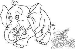 Coloring book stock illustration