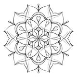 Coloring book for adults. Look my portfolio for more Stock Photography
