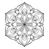 Coloring book for adults. Look my portfolio for more Royalty Free Stock Photos