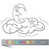The coloring book for children Stock Photography