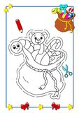 Coloring book of Christmas 10 Royalty Free Stock Photos