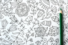 Coloring book Royalty Free Stock Photography