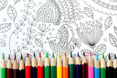 Coloring book Royalty Free Stock Images