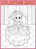 Coloring book. Fairy tail Stock Photo