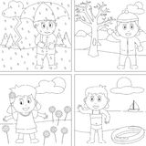 Coloring Book For Kids [28] Stock Images