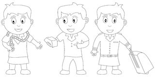 Coloring Book for Kids [14] Royalty Free Stock Photos