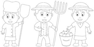 Coloring Book for Kids [18] Royalty Free Stock Photo