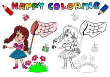 Coloring Book for kids Royalty Free Stock Images