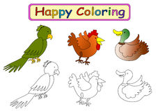 Coloring Book for kids Royalty Free Stock Image