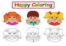 Coloring Book for kids Stock Photography