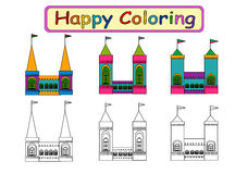 Coloring Book for kids  Royalty Free Stock Photo