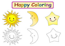 Coloring Book for kids  Stock Photo