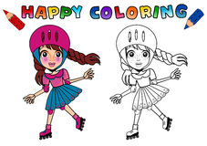 Coloring Book for kids isolated Stock Photography
