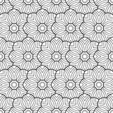 Coloring book pages flower Stock Photos