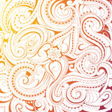 Coloring book pattern Stock Photos