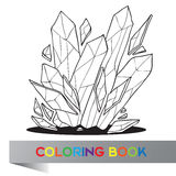 Coloring book - vector illustration Stock Images