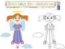 Coloring for children . Royalty Free Stock Photo
