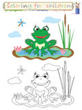 Coloring for children . Stock Photography