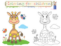 Coloring for children . Stock Image