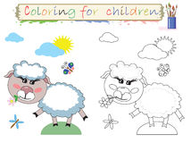 Coloring for children Royalty Free Stock Photo