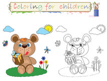 Coloring for children . Royalty Free Stock Photos