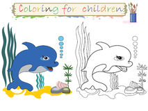 Coloring for children . Royalty Free Stock Image