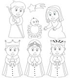 Coloring Christmas Nativity