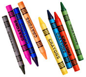 Coloring crayons Royalty Free Stock Images