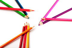 Coloring crayons Royalty Free Stock Image