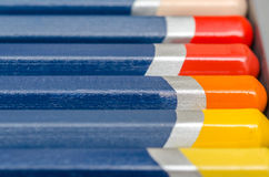 Coloring Crayons Closeup Royalty Free Stock Photo