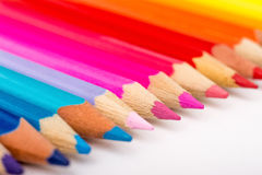 Coloring Crayons Royalty Free Stock Photos
