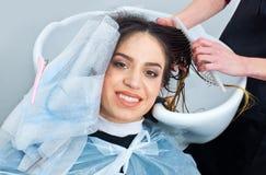 Coloring hair preparation Stock Photos