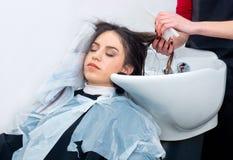 Coloring hair preparation Royalty Free Stock Image