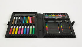 Coloring kit Royalty Free Stock Image