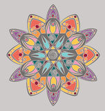 Coloring mandala design Royalty Free Stock Photos