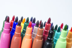 Coloring markers Royalty Free Stock Image