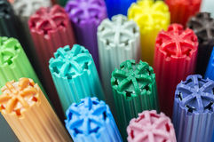 Coloring markers Royalty Free Stock Photos