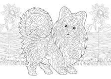 Pomeranian Spitz Stock Illustrations – 178 Pomeranian Spitz Stock ...