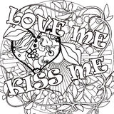 Coloring page book with decorative ornamental elements illustrat Stock Photos