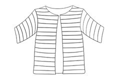 Free Coloring Page Of The Coat Of Many Colors In The Story Of Jospeh Stock Images - 138656524
