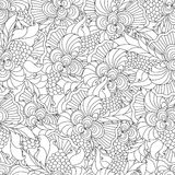 Coloring pages for adults. Royalty Free Stock Photography