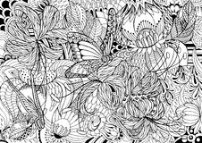 Coloring pages Royalty Free Stock Photography