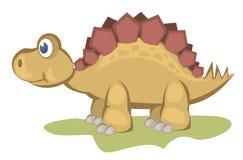 Cute dinosaur royalty free stock photos