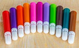 Coloring pencil set Stock Photo