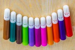 Coloring pencil set Royalty Free Stock Photo